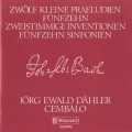 J.S Bach, Twelve Little Preludes & Inventions BMW 772-801