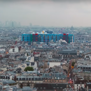 巴黎文艺旅行之— 您知道蓬皮杜艺术中心吗?