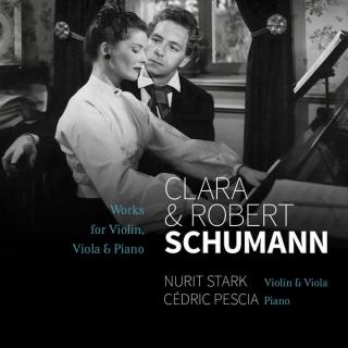 R. & C. Schumann : works for violin/viola and piano, N.Stark, C.Pescia