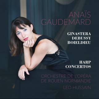 Harp concertos, works of Ginasteria, Boieldieu and Debussy - Anaïs Gaudemard and orchestre de l'opéra de Rouen Normandie