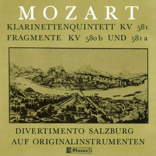 W.A Mozart, Clarinet Quintet & Fragments