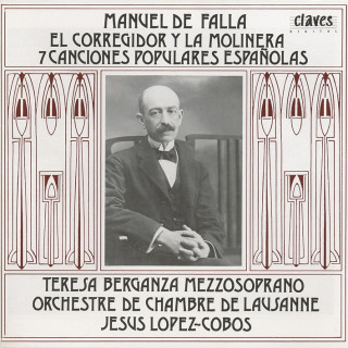 M.l De Falla, The Story of The Governor and the Miller's Wife & Seven Popular Songs Spanish